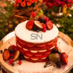Red Velvet com Ganache de Frutas Vermelhas